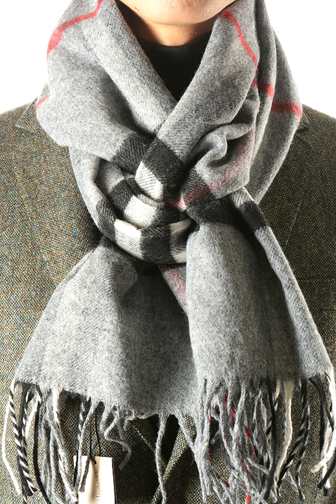 the classic scarf grey ace couture mens accessories
